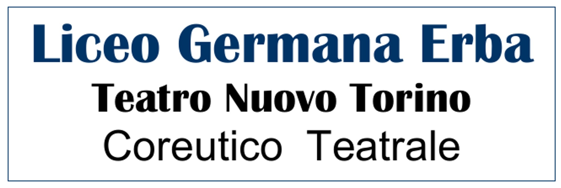 Liceo Germana Erba